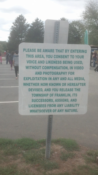 Consent via Placard