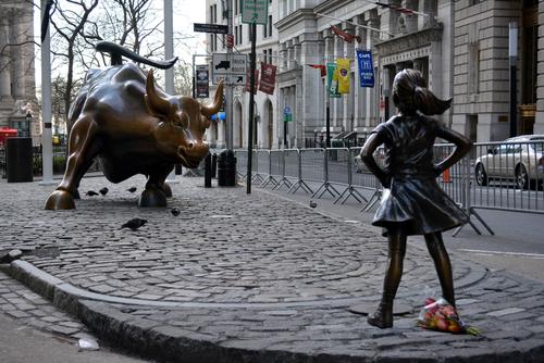 Fearless Girl & Charging Bull
